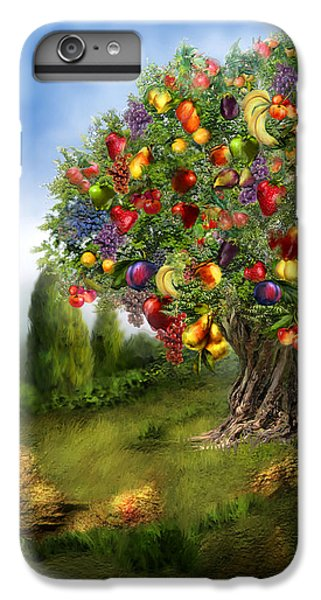 Tree Of Abundance IPhone 6 Plus Case by Carol Cavalaris