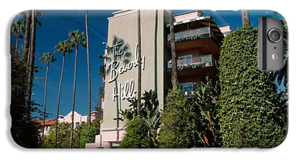 Trees In Front Of A Hotel, Beverly IPhone 6 Plus Case by Panoramic Images