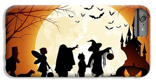 Trick Or Treat IPhone 6 Plus Case by Gianfranco Weiss