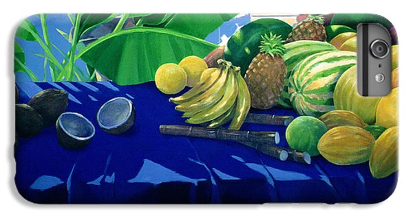 Tropical Fruit IPhone 6 Plus Case by Lincoln Seligman