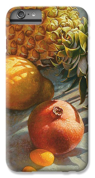 Tropical Fruit IPhone 6 Plus Case by Mia Tavonatti