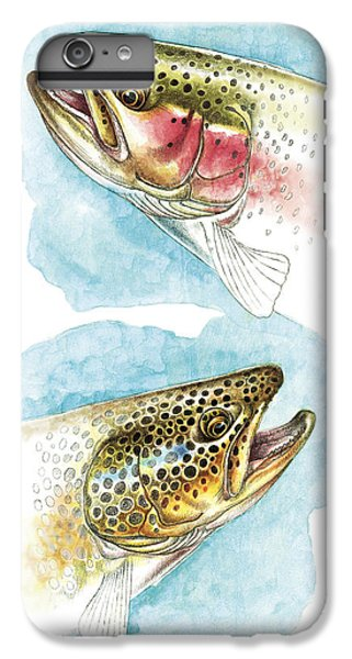 Trout Study IPhone 6 Plus Case by JQ Licensing
