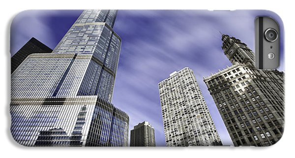 Trump Tower And Wrigley Building IPhone 6 Plus Case by Sebastian Musial