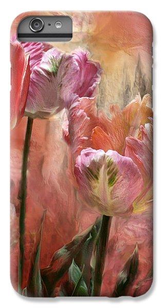 Tulips - Colors Of Love IPhone 6 Plus Case by Carol Cavalaris