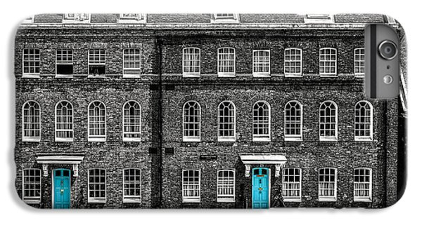 Turquoise Doors At Tower Of London's Old Hospital Block IPhone 6 Plus Case by James Udall