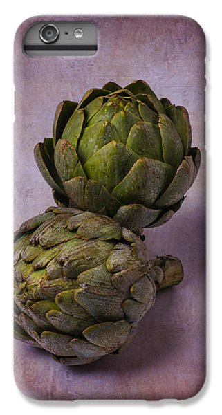 Two Artichokes IPhone 6 Plus Case by Garry Gay