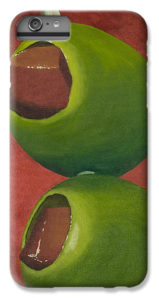 Two Olives In Search Of A Bloody Mary IPhone 6 Plus Case by Garry McMichael