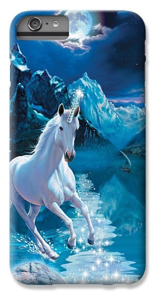 Unicorn IPhone 6 Plus Case by Andrew Farley