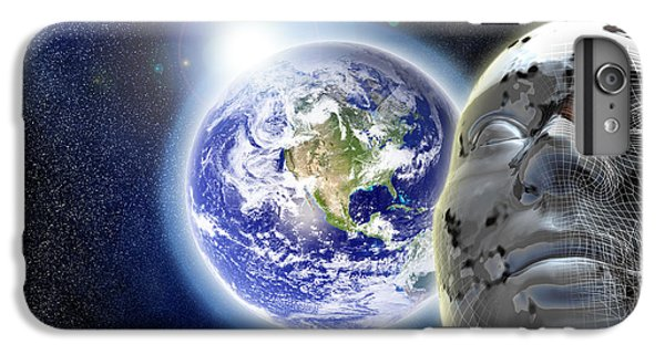 Alone In The Universe IPhone 6 Plus Case by Stefano Senise