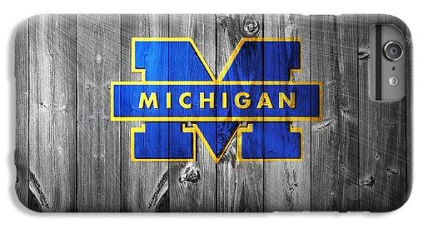 University Of Michigan IPhone 6 Plus Case by Dan Sproul