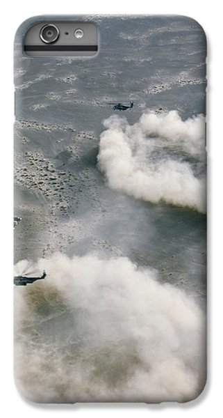 Us Helicopters Landing In Afghanistan IPhone 6 Plus Case by U.s. Marine Corps
