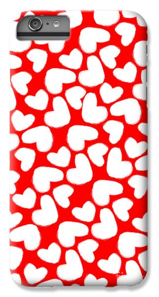 Valentines Day Card IPhone 6 Plus Case by Louisa Knight