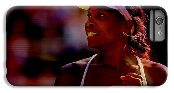 Venus Williams IPhone 6 Plus Case by Marvin Blaine