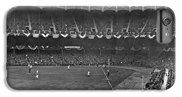 View Of Yankee Stadium IPhone 6 Plus Case by Underwood Archives