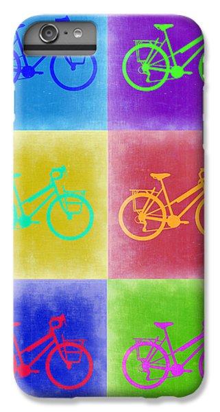 Vintage Bicycle Pop Art 2 IPhone 6 Plus Case by Naxart Studio