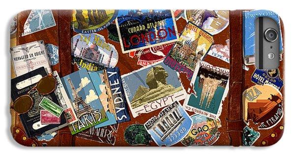 Vintage Travel Case IPhone 6 Plus Case by Garry Walton