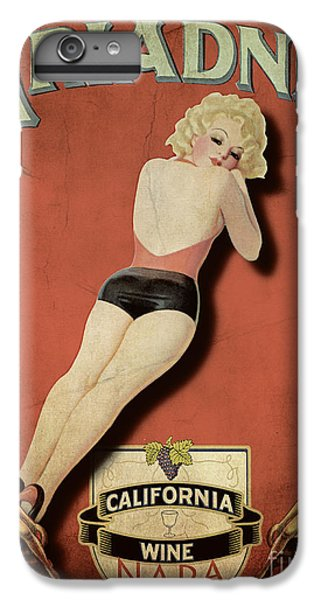 Vintage Wine Ad II IPhone 6 Plus Case by Cinema Photography