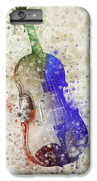 Violin IPhone 6 Plus Case by Aged Pixel