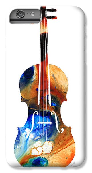 Violin Art By Sharon Cummings IPhone 6 Plus Case by Sharon Cummings