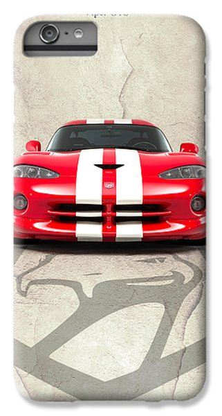 Viper Gts IPhone 6 Plus Case by Mark Rogan