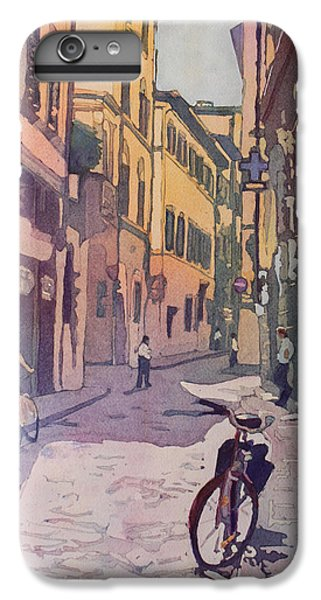 Waiting Bike IPhone 6 Plus Case by Jenny Armitage