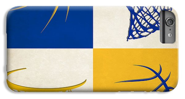 Warriors Ball And Hoop IPhone 6 Plus Case by Joe Hamilton