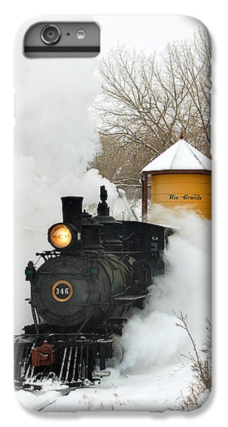 Water Tower Behind The Steam IPhone 6 Plus Case by Ken Smith