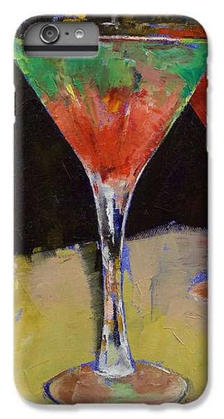 Watermelon Martini IPhone 6 Plus Case by Michael Creese