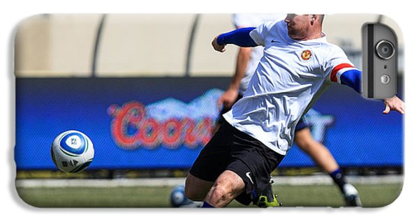 Wayne Rooney IPhone 6 Plus Case by Keith R Crowley
