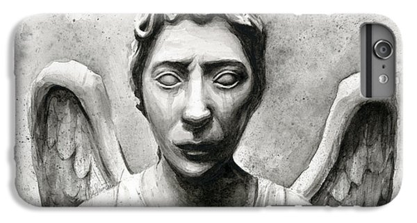Weeping Angel Don't Blink Doctor Who Fan Art IPhone 6 Plus Case by Olga Shvartsur