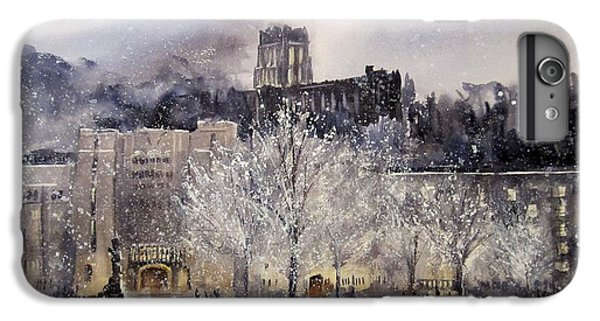 West Point Winter IPhone 6 Plus Case by Sandra Strohschein