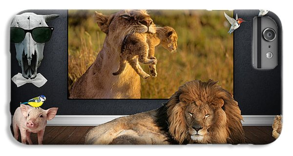While The Lion Sleeps Tonight IPhone 6 Plus Case by Marvin Blaine