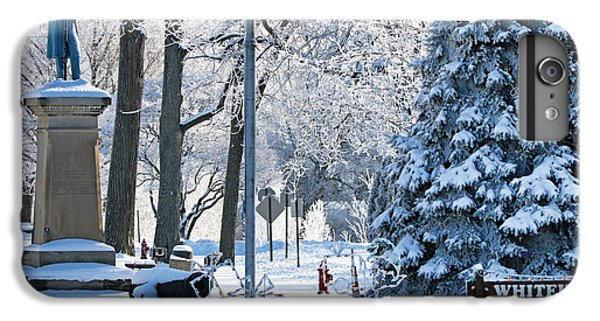 Whitehouse Village Park  7360 IPhone 6 Plus Case by Jack Schultz