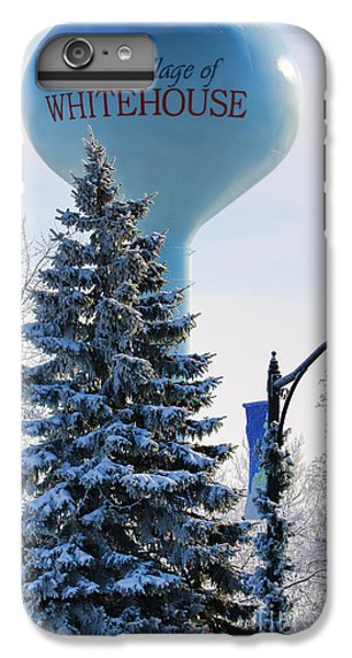 Whitehouse Water Tower  7361 IPhone 6 Plus Case by Jack Schultz