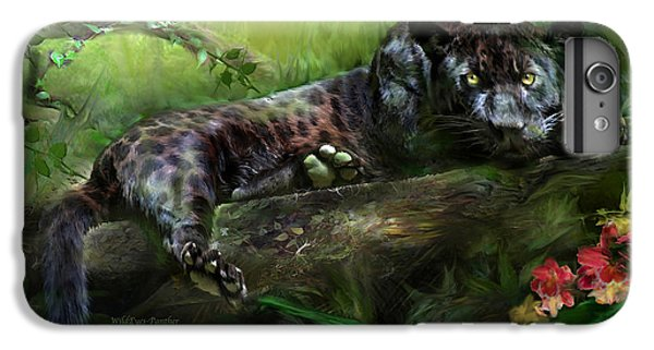 Wildeyes - Panther IPhone 6 Plus Case by Carol Cavalaris