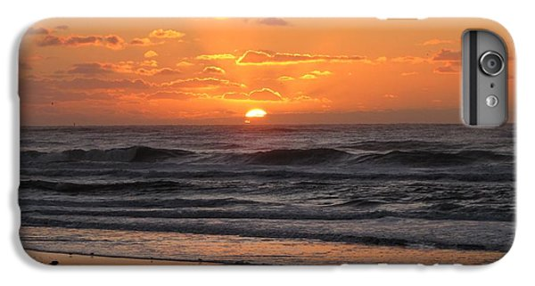 Wildwood Beach Here Comes The Sun IPhone 6 Plus Case by David Dehner