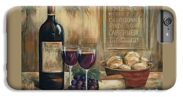 Wine For Two IPhone 6 Plus Case by Marilyn Dunlap