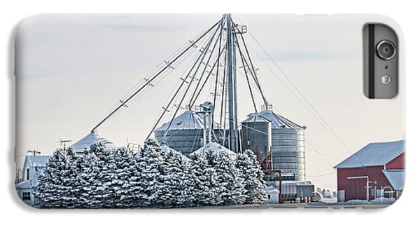 Winter Farm  7365 IPhone 6 Plus Case by Jack Schultz