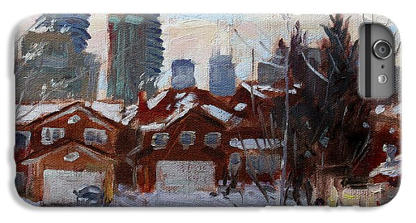 Winter In Mississauga  IPhone 6 Plus Case by Ylli Haruni