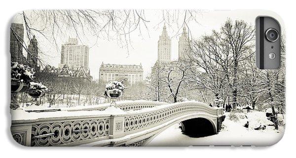 Winter's Touch - Bow Bridge - Central Park - New York City IPhone 6 Plus Case by Vivienne Gucwa