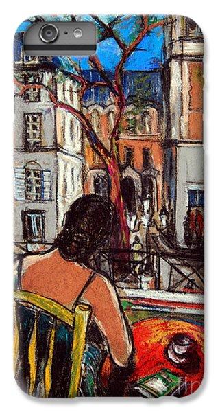 Woman At Window IPhone 6 Plus Case by Mona Edulesco