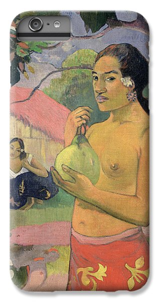 Woman With Mango IPhone 6 Plus Case by Paul Gauguin