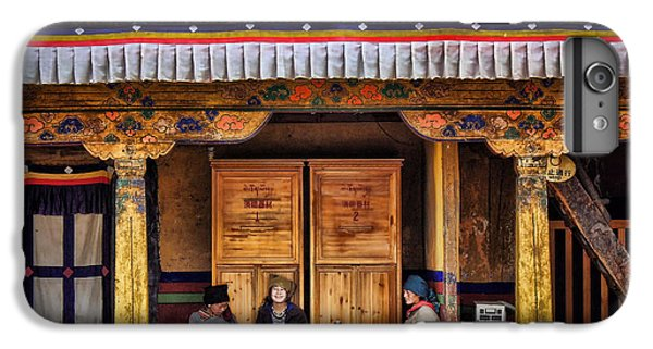 Yak Butter Tea Break At The Potala Palace IPhone 6 Plus Case by Joan Carroll