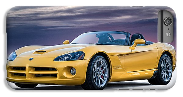 Yellow Viper Convertible IPhone 6 Plus Case by Douglas Pittman