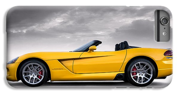 Yellow Viper Roadster IPhone 6 Plus Case by Douglas Pittman