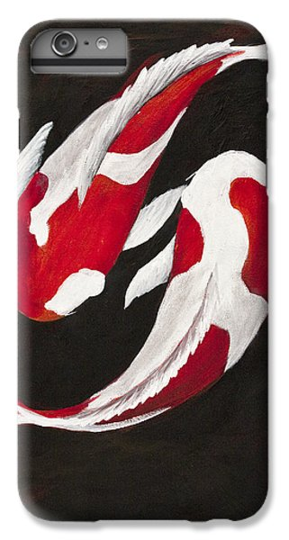 Yin And Yang IPhone 6 Plus Case by Darice Machel McGuire