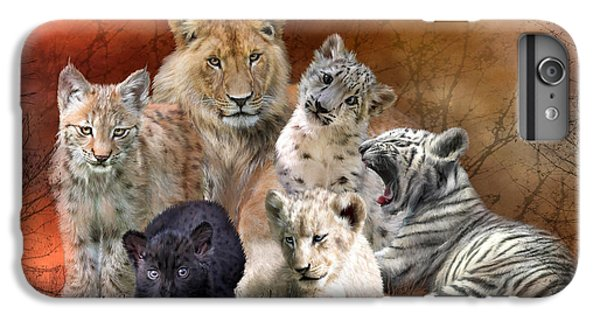 Young And Wild IPhone 6 Plus Case by Carol Cavalaris