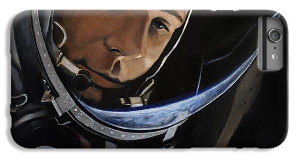 Yuri Alekseyevich Gagarin IPhone 6 Plus Case by Simon Kregar