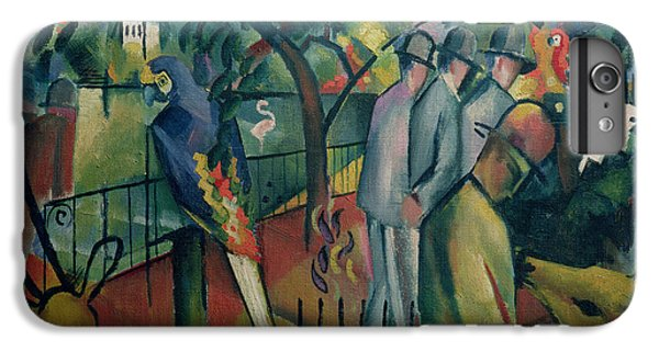 Zoological Garden I, 1912 Oil On Canvas IPhone 6 Plus Case by August Macke