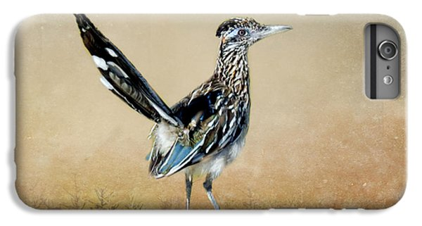 Greater Roadrunner IPhone 6 Plus Case by Betty LaRue